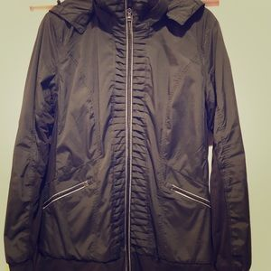 Lululemon Black Rain Jacket, sz 12